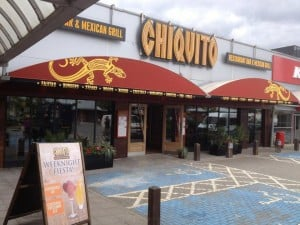 New panels on existing fixed canopies at Chiquito