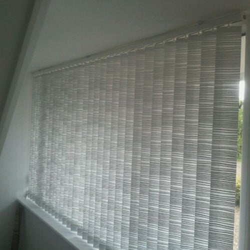 Patterned Vertical Blind