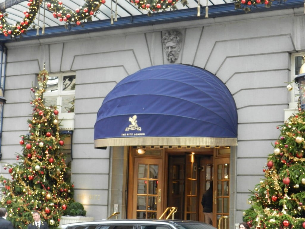 the ritz london commercial awnings