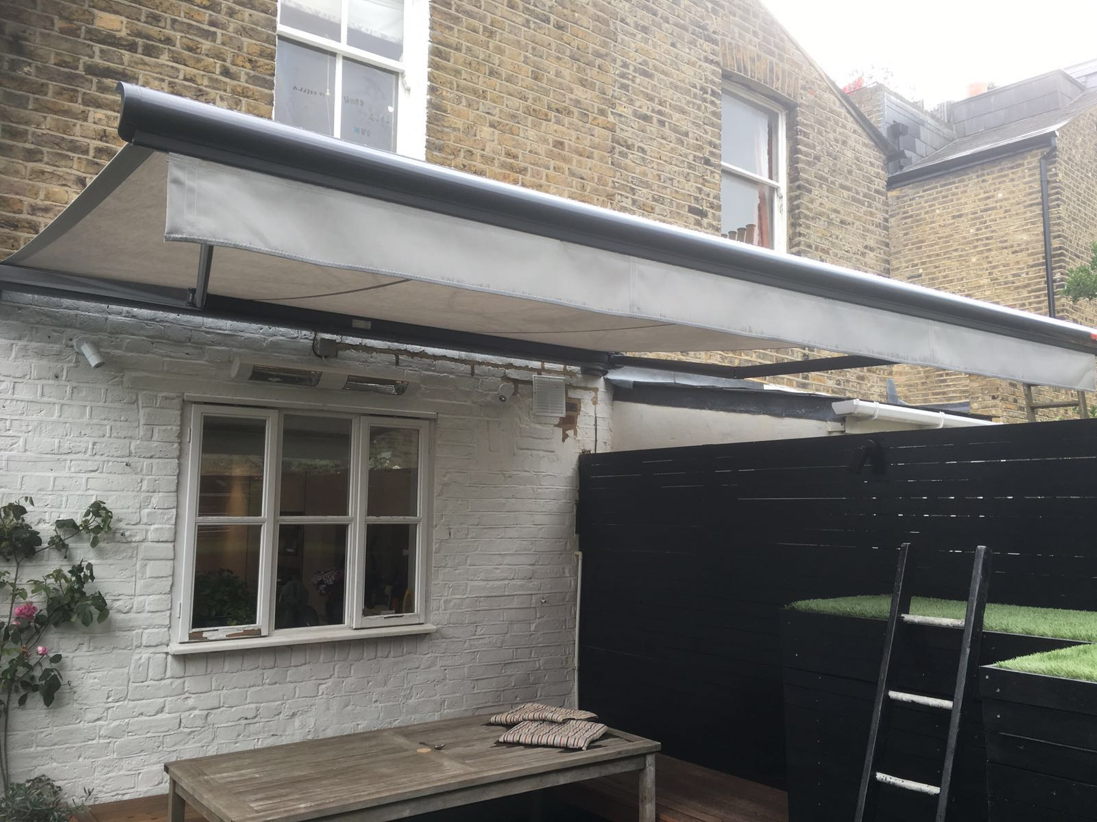 Awnings Private Residence London Radiant Blinds Ltd