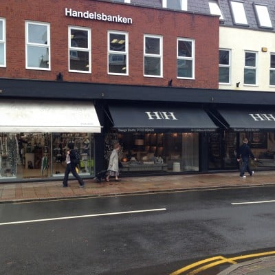 Sign Writing on Awnings in Weybridge