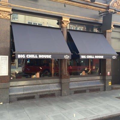 Big Chill House awning