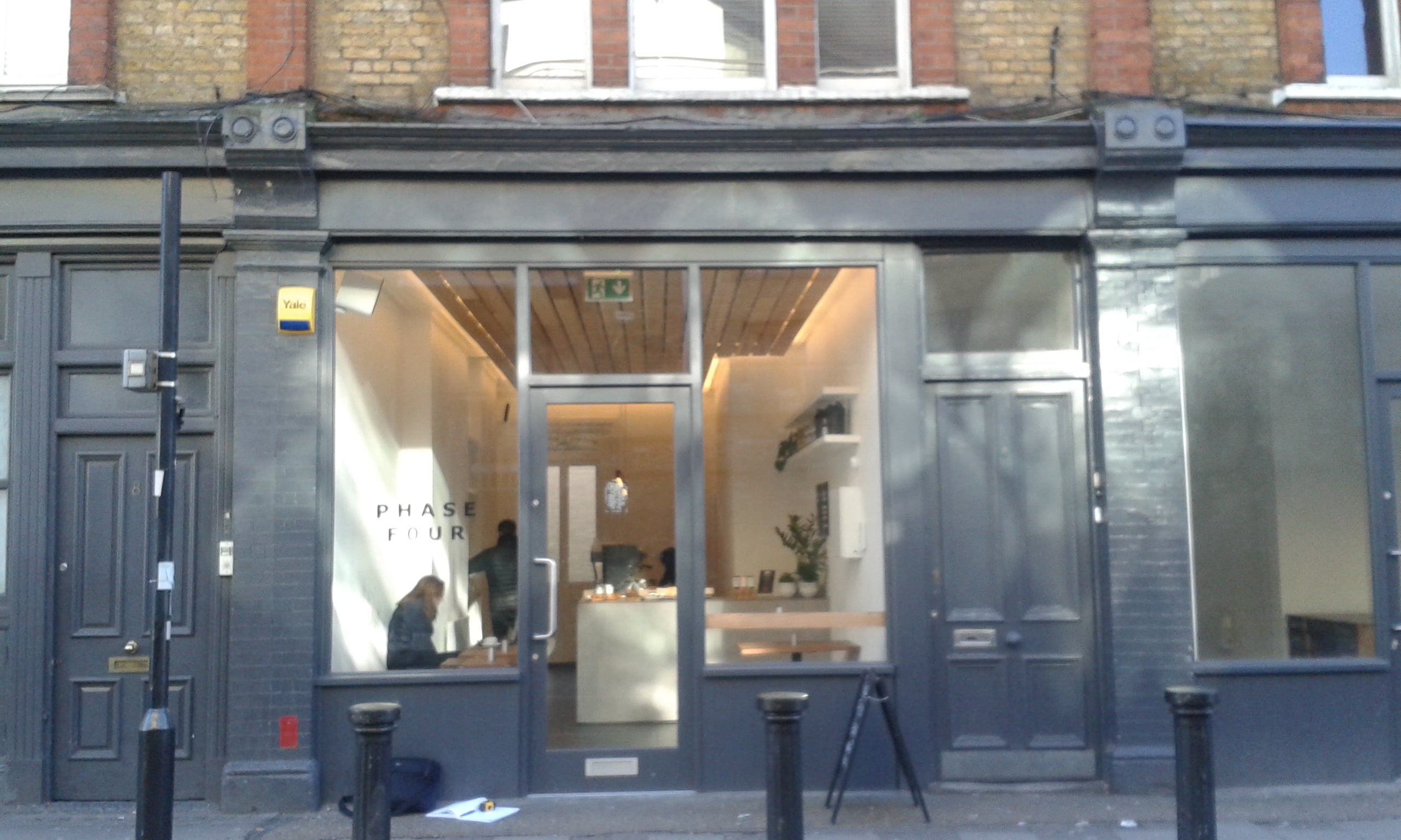 Phase Four Coffee Shop Clapham Radiant Blinds Ltd