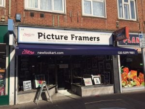 NEW SHOP AWNING TOLWORTH