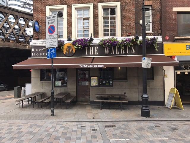 Walrus Bar Amp Hostel Lambeth Radiant Blinds Ltd