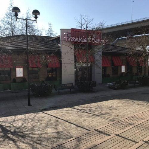 Frankie & Benny's restaurant in Rochester