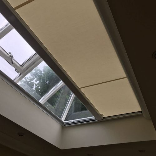 Electric Blind for Roof Light