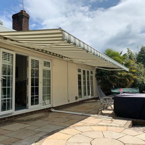 8.5 wide patio awning