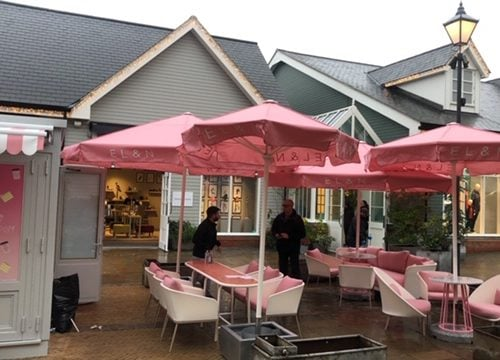 Awning and Umbrella Covers for Elan