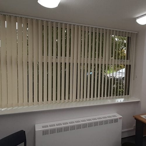 Health Centre Vertical Blind