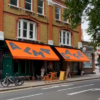 Alma Cafe Gets New Victorian Awnings